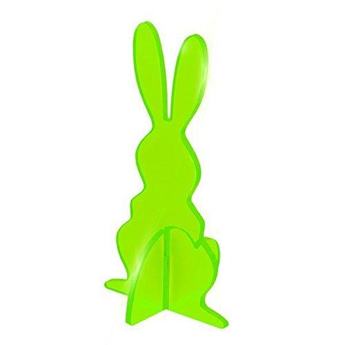 Elliot lichtzauber 1019931 vitrail lapin 3D magic debout, vert 30 cm