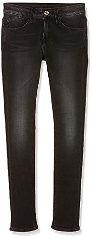 Le Temps des Cerises Junior GPOWER000WM64, Jeans Fille, Noir (Black), FR: 16 Ans (Taille Fabricant: 16 Ans)