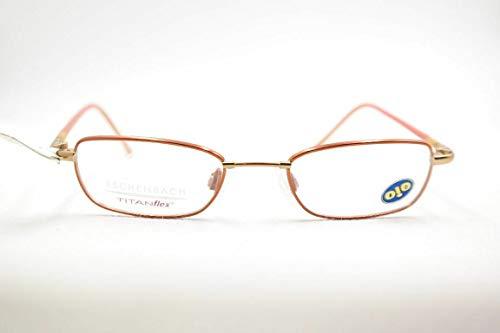 Eschenbach Titanflex Oio Kinderbrille 3407 51 43[]17 125 Orange oval Brille Neu