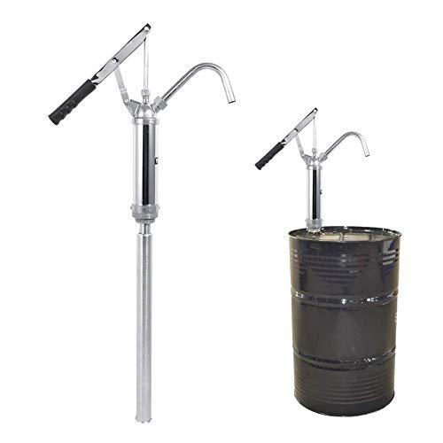 TEN-G Lever Action Barrel Pump Transfer Fuel Diesel Hand Pump Oil 55 Gallon Drum Tank -