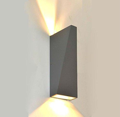 Applique da parete led da esterno ip65 10w lw919 luce - Applique da esterno a led ...