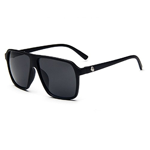 O-C da uomo Classico & Fashion WAYFARER occhiali da sole Lenti 55mm di larghezza grigio Grey