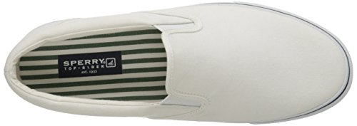 Uomo Sperry, Striper White (White)