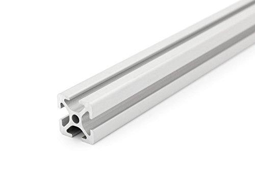 Aluminiumprofil 20x20 I-Typ Nut 5 - Standardlängen (4,80 EUR/m) 800mm