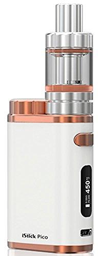Eleaf iStick Pico TC 75 Watt / MELO 3 Mini Full Kit Farbe Weiss-Bronze