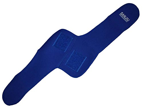saysure-blue-elbow-support-cutout-open-guard-wrapped-strap-band-for-outdoor-sports-gmn-bg-spt-000018