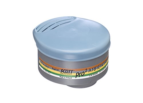 Scott 5544083Paar Filter Pro 2A1B1E1K1P3Für Halbmaske Profile 2, mehrfarbig