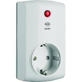 ELRO HIS20PS Funk-Steckdosenschalter für das Sicherheits und Heimautomationssystem