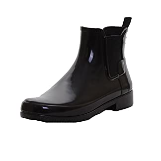 Hunter Original Refined Chelsea Boots Black 4