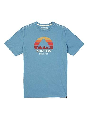 Burton Herren Underhill Shortsleeve T-Shirt, Blue Heaven, M (Burton Shirt Blau)