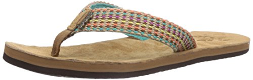 REEF Gypsylove, Chanclas Mujer, Multicolor (TEAL TEA), 36 EU