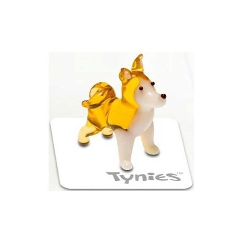 Tynies Dog Collection 1 Kit - Akita Glass Figure *Colors May Vary* by Tynies