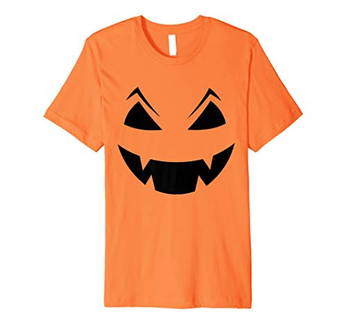 Jack O 'Laterne Halloween Kürbis Kostüm Shirt (Einfachste Kostüm)