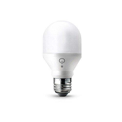 LIFX Mini Day & Dusk (E27) Ampoule smart LED connectable Wi-Fi, ajustable, multicolore, ajustable, pas de hub requis, fonctionne avec Alexa, Apple HomeKit et Google Assistant