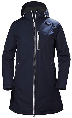 Helly Hansen Damen W Long Belfast Winter Jacke, Evening Blue, 2XL (Helly Hansen Ski Jacke Frauen)