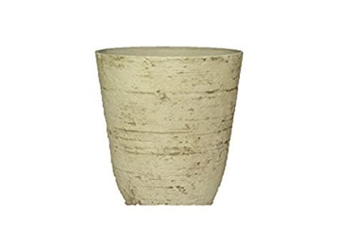 Stone Light Antique AT Series Cast Stone Planter (Pack of 6), 11 by 11.5