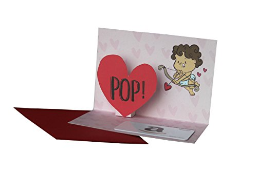 Amazon.in Gift Card with Greeting Card - Rs.1000 ( Valentine's Day Pop Up )