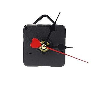 Atdoshop Red Heart Hands DIY Quartz Wall Clock Movement Mechanism Repair Parts