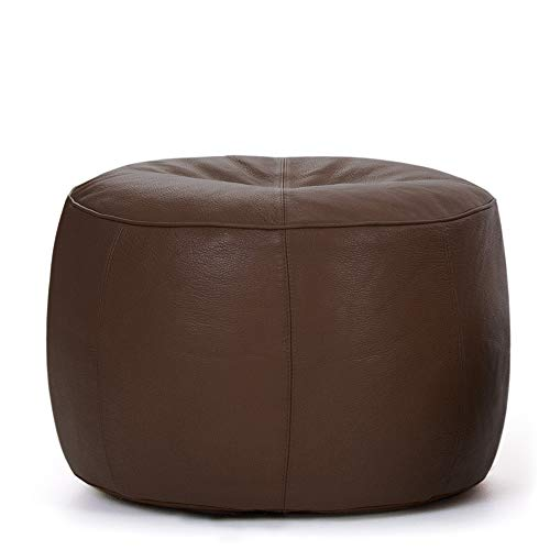"Bean Bag Bazaar Luxus-Designer ""Icon Fußhocker, leather-p"