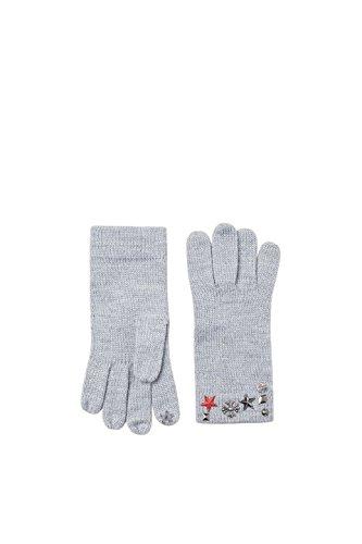 Esprit Accessoires 097ea1r002, Guantes para Mujer, Gris (Grey 030), Talla única