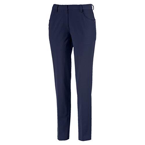 Puma Damen W Stretch Utility Pants Hose, Peacoat, 38 Classic Nylon Peacoat
