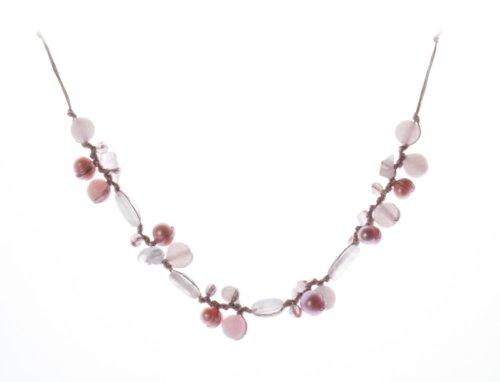 oi-collana-da-donna-con-quarzo-rosa-e-perla-metallo-rodiato-e-seta-400-mm-cod-n2792