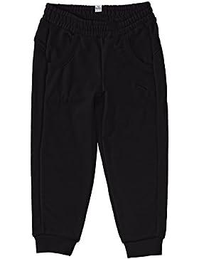 PUMA Hose Fun TD Sweat Pants Closed Terry G - Pantalones deportivos para hombre, color negro, talla 10 años (140...