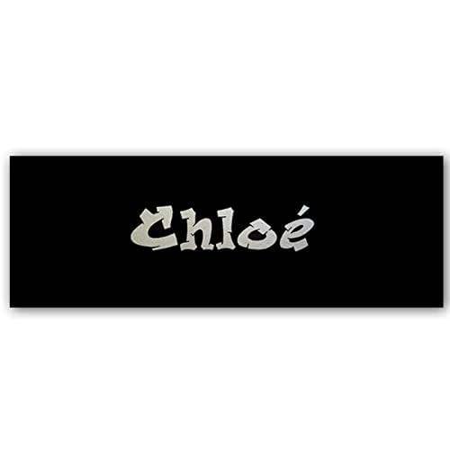 Plaque de porte Tag graffiti avec prénom, décoration chambre ado fille ou garçon