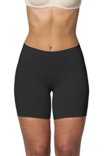 Sleex guaina modellante girl shorts, nero, taglia s/m (44039)