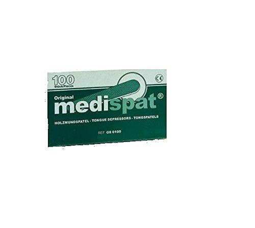 Medispat 04228987 Holzmundspatel, Standard (100-er Pack)