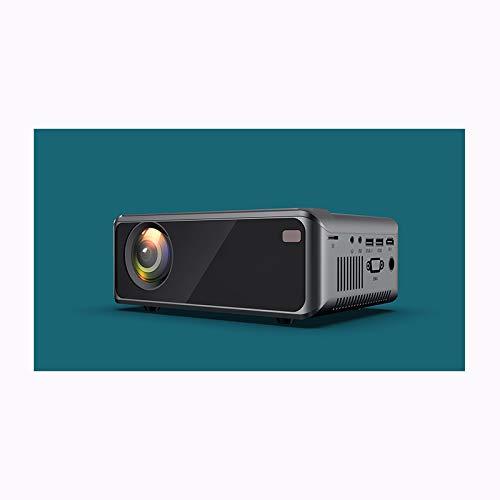 Link Co Mini tragbarer Projektor Drahtlose Bildschirmprojektion Unterstützt 1080P 2500 Lumen Kompatibel mit HDMI/VGA/AV/USB für Heimkino-Unterhaltung,Black