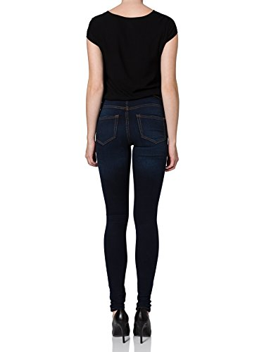 VERO MODA Super Fix Nw Skinny Jeans Dk Blue Noos, Jeans da donna Blu (Dark Blue Denim)