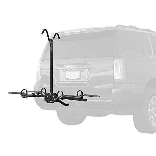 Retrospec Lenox Car Hitch Mount Tray Bike Rack with 2-inch Receiver; 2 Bicycle Carrier (Receiver Hitch Bike Rack)