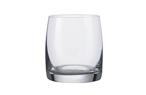 Bohemia Crystal Ideal Set Gobelets Bas, Verre, Transparent, 29 cl, 6 pièces