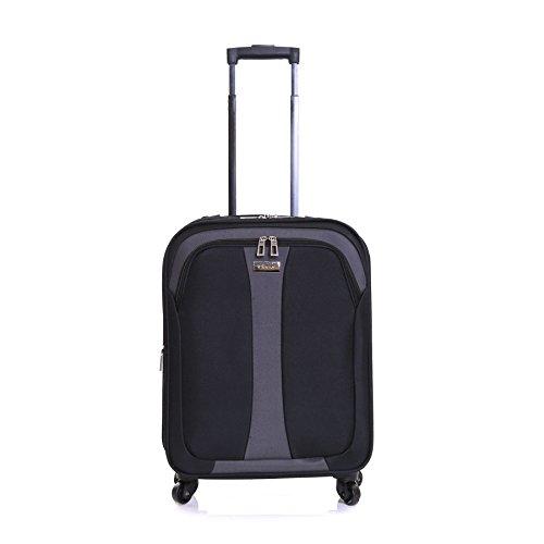 Slimbridge Andalusien 55 cm Erweiterbar Koffer, Schwarz Schwarz