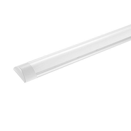120cm LED-Deckenleuchte Schrank-Licht,LED-Streifen-Licht Super helles,Supermarktbeleuchtung für Schrank, 3 Modi LED Küchenleuchte KühlesWeiß 3000K
