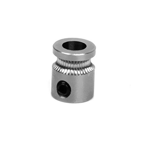 ueetek 3d Drucker Extruder Gear Ersatz MK8Gear 5mm Antriebswelle für 3d Drucker Filament für 1,75mm