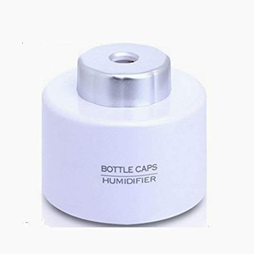 Snner portátil Mini Botella de Agua Caps humidificador Fabricante de la Niebla con USB Color Blanco
