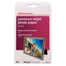 office-depot-odph-006-confezione-da-50-fogli-di-carta-fotografica-10-x-15-cm-colore-bianco