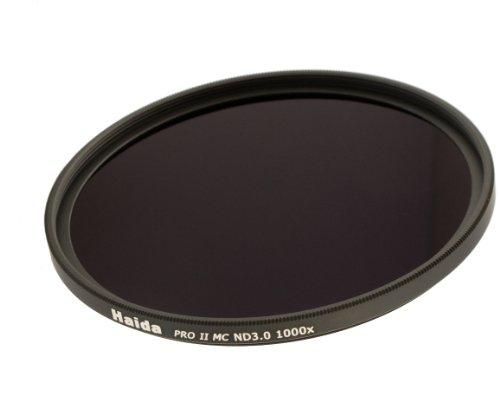 Haida PRO II Serie MC (mehrschichtvergütet) Neutral Graufilter ND1000 - 67mm - Inkl. Cap mit...