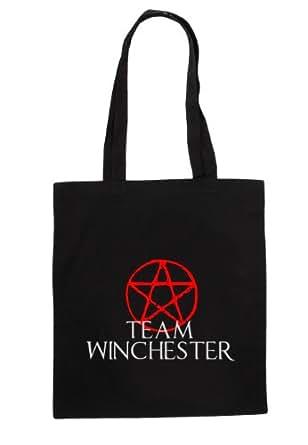 Tumpytees -Supernatural/Cotton Tote Bag... Team Winchester
