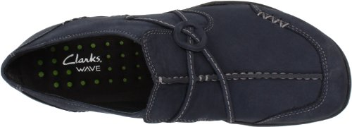 Clarks Wave-Run Slip-on Loafer Navy Nubuck