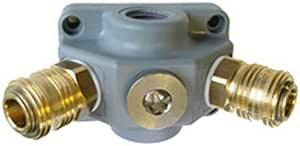 Endverteilerdose Ev 12 G21 Kupplung 2 Fach G 1 2 Druckluftverteiler Kunststof Baumarkt