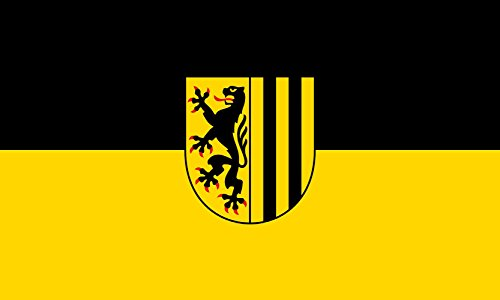 magFlags Flagge: Large City Flag of Dresden | Querformat Fahne | 1.35m² | 90x150cm » Fahne 100% Made in Germany