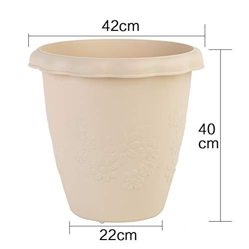 Admirable Pot fleur résine HN-57