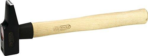 KS Tools 142.1050 Schlosserhammer, Esche-Stiel, französische Form, 400g