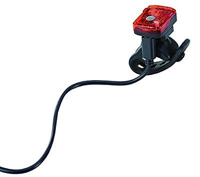 Prophete Batterierücklicht, Lithium-Ionen-Technologie, Micro Inkl. USB-Ladekabel, für Alle Fahrräder Zugelassen LED-Rücklicht, Schwarz, L