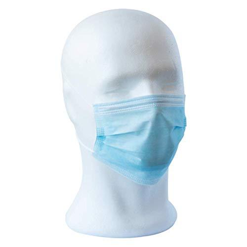 LisaCare® Atemschutzmaske / Schutzmaske - Atemmaske, OP-Maske, Einwegmaske - schützt vor Feinstaub & Verschmutzungen - (50x)
