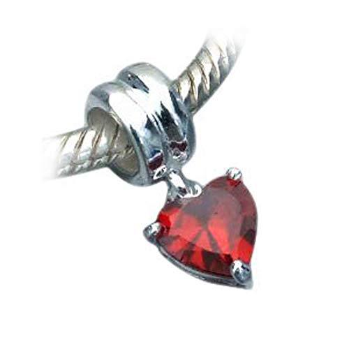 Andante Stones 925 Perlina dargento Bead Charm pendenti