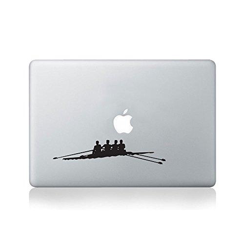 Rowing Team Vinyl-Aufkleber für MacBook Air (11 Zoll und 13 Zoll), MacBook Pro (13 Zoll / 38,1 cm), MacBook Pro Retina (13 Zoll / 38,1 cm) und MacBook Retina (30,5 cm) (13 Vinyl Pro Mac Book)